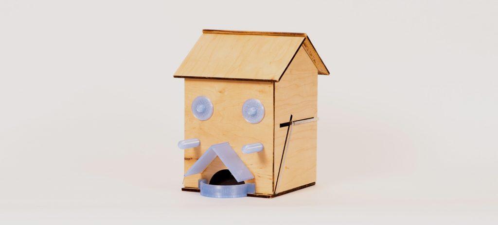 Birdhouse Feeder